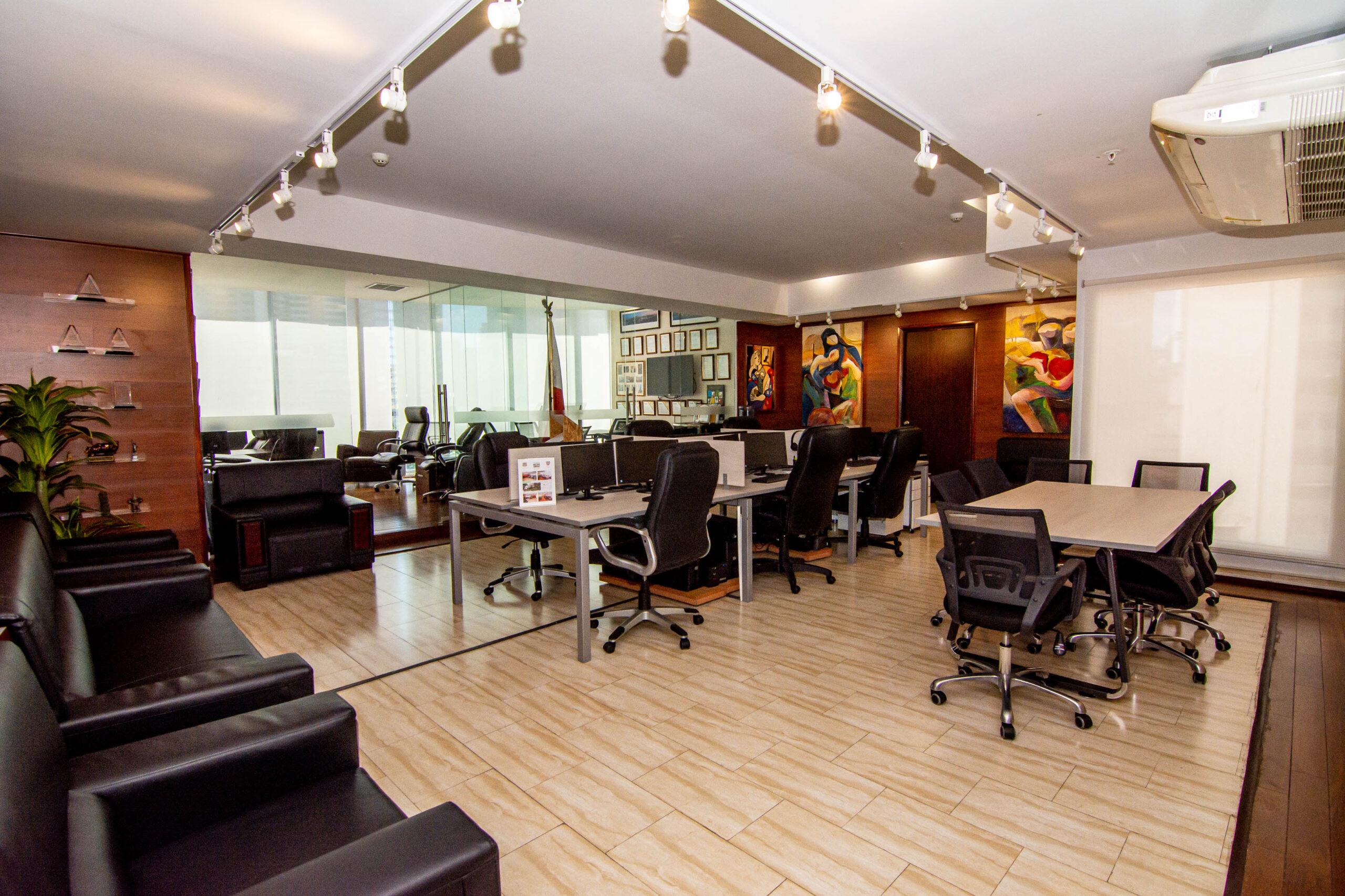 Oficina de Panama Real Estate & Investment Consultants, Corp. y Panama Finance Law & Co. – Tour Virtual 360
